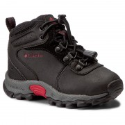 Bokacipő COLUMBIA - Childrens Newton Ridge BC2852 Black/Mountain Red 010