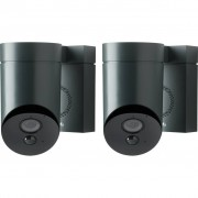 Somfy Outdoorcamera Zwart Duo Pack