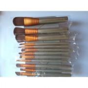 Cosmetic Makeup Brush Set - 12 Piece Set with Storage Box