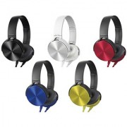 KSJ Extra Bass Over the Ear MDR-XB450 Wired Headphones with Mic - Assorted Colors