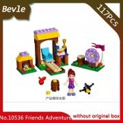 Bevle Store Bela 10536 117pcs Friends Series Adventure Camp Archery Field Model Building Blocks Bricks For Children Toys 41091