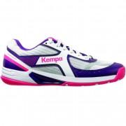 Kempa Damen-Handballschuh WING WOMEN - weiß/pink/lila | 41