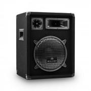 """Malone PW-1022 3-Wege Box Lautsprecher 25cm (10"""") 400Wmax. / 200W RMS schwarz"""