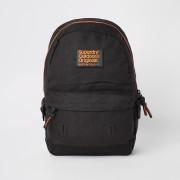 Superdry Mens Superdry Originals Black front logo backpack (One Size)