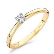 Blush Diamonds Ring met 0.10ct Diamant maat 56