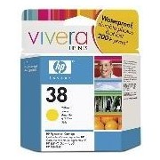 HP 38 Yellow Pigment Ink Cartridge (C9417A)