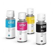 HP GT51 GT52 4 Color Set Genuine Official Original Ink Bottle For GT 5820 5810