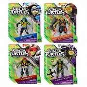 Teenage Mutant Ninja Turtles: Out of the Shadows Figures Set of 4 (Leonardo Michelangelo Raphael & Donatello)