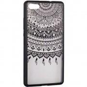 Husa Capac Spate Lace Design 1 Negru Samsung Galaxy S7 Edge STAR