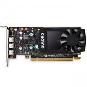 Видео карта за сървър, Dell NVIDIA Quadro P400 2GB 3 mDP FH, 490-BDTB