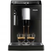 Espressor super-automat Philips EP3510/00, sistem AquaClean, sistem spumare a laptelui, 5 setari intensitate, optiune cafea macinata, 3 bauturi, Negru