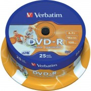 Verbatim DVD-R 16X Spindle25 43538