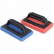 UVA Tile Cleaning Multipurpose Scrubber Brush With Handle pack of 2 (Color may vary)