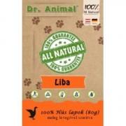 Dr. Animal 100% szárított libahús lapok 80g
