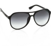 Farenheit Over-sized Sunglasses(Blue, Grey)