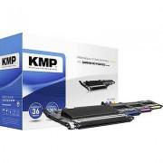 KMP Toner cartridge combo pack replaced Samsung CLT-P406C, CLT-K406...