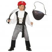Geen Compleet piraten kostuum maat 140-152 voor kinderen