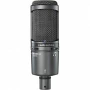 Audio-Technica AT2020USB+ - Microfon condenser pentru studio, USB