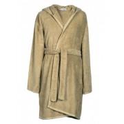 Albornoz de baño con capucha 100% algodón 480 gr./m2 - Stonewashed