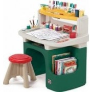 Spatiu de joaca Step2 Art Master Activity Desk Green