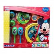 Music Mickey Mouse set cu instrumente muzicale