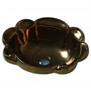 Star lavabo da incasso 52 cm bronzo lucido