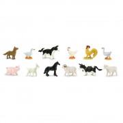 Animale de la Ferma Safari Set 12 Figurine