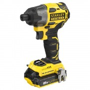 Stanley FMC647D2 Visseuse à impacts 18 V 2x batteries 2Ah coffret chargeur