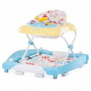 Premergator cu Balansoar Chipolino Fun Life - Helly Yellow
