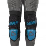 Leatt Knieprotektor 3DF Hybrid Fuel-Schwarz