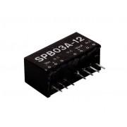 Tápegység Mean Well SPB03E-15 3W/15V/200mA
