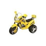 Moto Elétrica Infantil MT Speed Amarelo 6V - Magic Toys