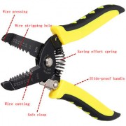 New Multi-Function Wire Stripper Cutter Pliers 10-22 AWG Metric Electrical Tool