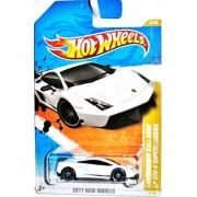 Hot Wheels Lamborghini Gallardo LP 570-4 Superleggera White 2011 #9/244