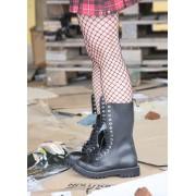 bőr csizma női - - STEEL - 135/136 Black