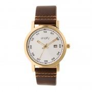 Simplify The 5300 Strap Watch - Gold/Brown SIM5304