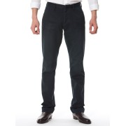 【49%OFF】スタンダード ストレートパンツ ネイビー 28 ファッション > メンズウエア~~パンツ