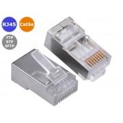 NTR CON74 Cat5e RJ45 dugó árnyékolt FTP/SFTP kábelekhez
