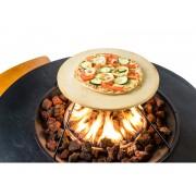 Happy Cocooning Pizzasteen voor vuurtafels (toevoeging op grillplaat)