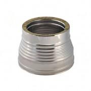 Saumento Doppia Parete Acciaio Inox Diametro Interno 350 F-400 M Esterno 400 M-450 F
