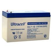 ULTRACELL acumulator UPS stationar VRLA 12 V - 7Ah