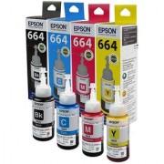 Original Epson Ink 664 (T6641 T6642 T6643 T66444)(M C Y BK)