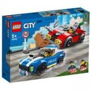 Конструктор Лего Сити - Полицейски арест на магистралата, LEGO City Police 60242