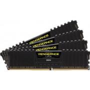 Memorii Corsair Vengeance LPX Black DDR4, 4x4GB, 3000 MHz, CL 15