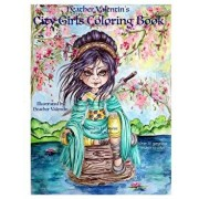 Heather Valentin's City Girls Coloring Book: Geishas, Belly Dancers, European Gorgeous City Ladies from Around the World Adult Coloring Book, Paperback/Heather Valentin