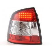 FK-Automotive fanale posteriore a LED per Opel Astra (tipo G) 3/5 porte anno di costr. 98-03, chiaro/rosso