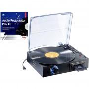 Q-Sonic USB-Platten- & Kassetten-Spieler UPM-700 + Audio Restaurator 10