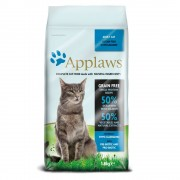 Applaws Adult com peixe do oceano e salmão para gatos - Pack económico: 2 x 6 kg
