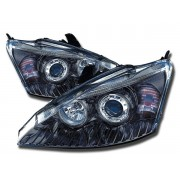 Faruri Angel Eyes Ford Focus 98-00 negru
