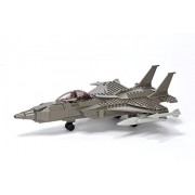 Ultimate Soldier F18 Navy Fighter Jet And Pilot Construction Set (Assorted)